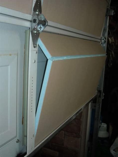 diy garage door insulation the garage journal board a