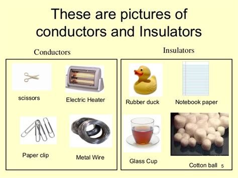 electrical conductors exles what are conductors and insulators نسخة