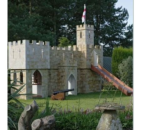 backyard castle the castle fortress playset marquette turner luxury homes