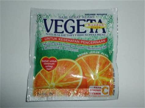 Vegeta Herbal Sachet Vegeta Fiber Supplement Drink Pack Of 12 Sachets
