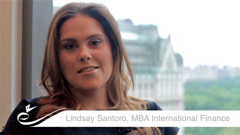 Success Stories Of Mba Students by European School Of Economics Lindsay Santoro Mba
