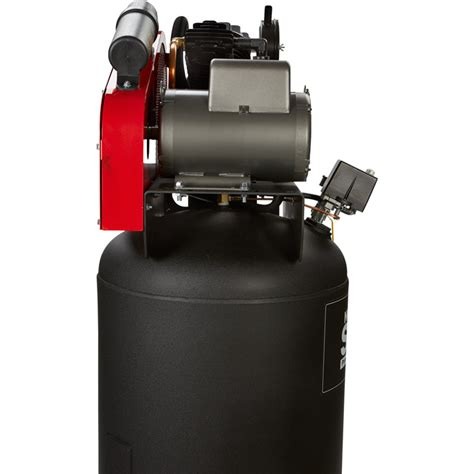 shipping northstar electric air compressor  hp  gallon vertical  volt