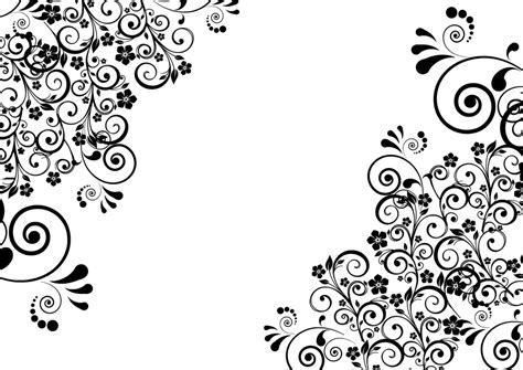 decorative flower free vector graphic decorative floral flourish free