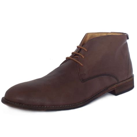 mens casual brown boots lotus richmond s smart casual chukka boots in brown