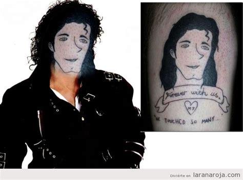 löwen tattoo fail michael jackson la rana roja