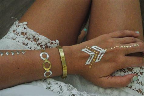 hand tattoo gold flash tats triangl bikinis don t feed the hauters
