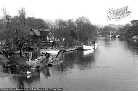 thames ditton river boats thames ditton the river thames c 1955 francis frith