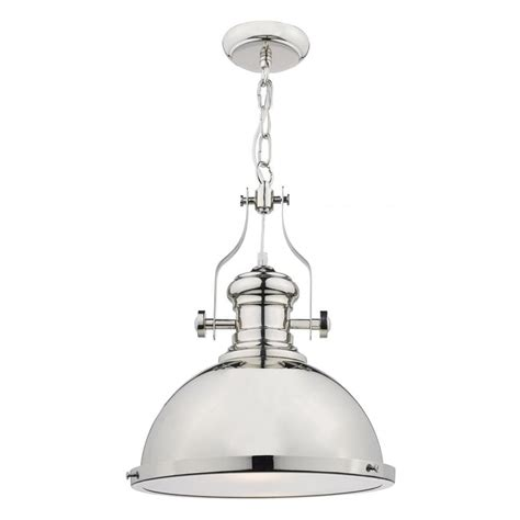 Dar Pendant Lights Dar Lighting Arona 1 Light Polished Chrome Pendant Light With Glass Diffuser Aro0138 Lighting