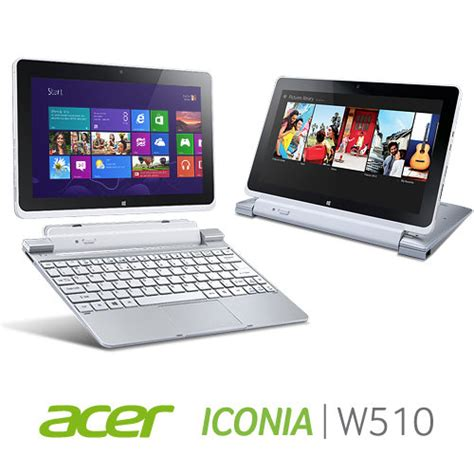 Keyboard Acer Iconia W510 acer iconia w510 1438 10 1 inch 32gb tablet with keyboard dock silver tablet