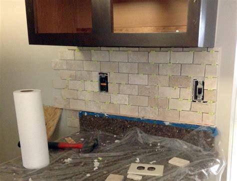 how to install your own tile backsplash easy diy tutorial