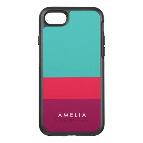 Otterbox Symmetry For Iphone 7 Pink Colour Ori Asli name color block turquoise pink purple otterbox symmetry