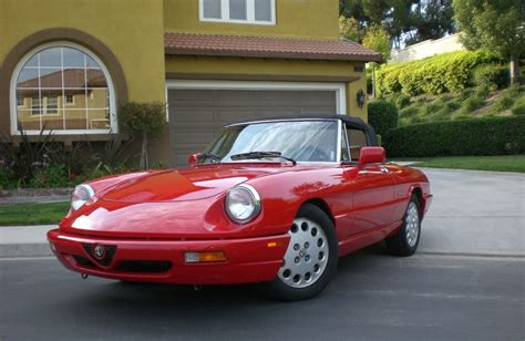 Alfa Romeo Spider 1991 by 1991 Alfa Romeo Spider Photos Informations Articles