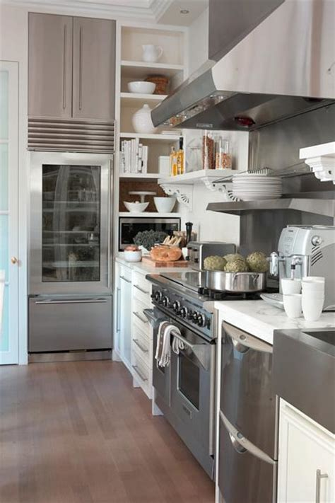 white kitchen stainless steel appliances stainless steel appliances design ideas