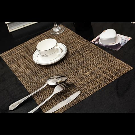 Dining Table Placemats 4pc Set Pvc Drying Placemats Insulation Mats Coasters Kitchen Dining Table Ebay