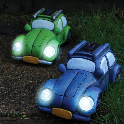 Vw Patio Lights Garden Green Vw Beetle Style Solar Light Buy At