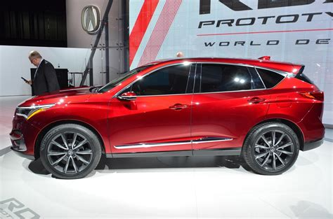 2019 Acura Suv by 2019 Acura Rdx Is A Crystall For An Suv Future In