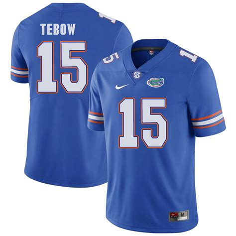 youth blue tim tebow 15 jersey brilliant p 1052 new florida gators 15 tim tebow blue college football