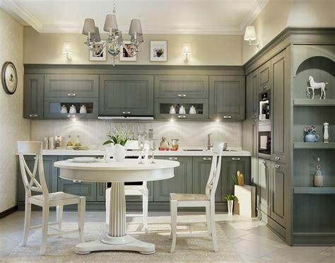 Grey Kitchen Design Grey Traditional Kitchen Interior Design Ideas