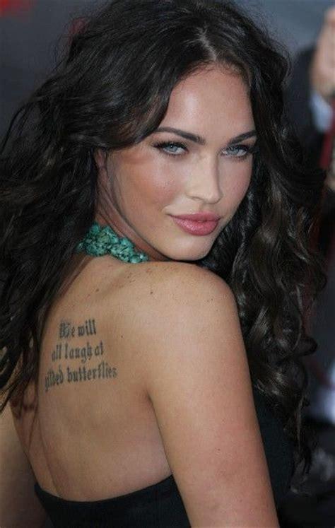 angelina jolie tattoo quote tatts not very original danielle lloyd follows angelina