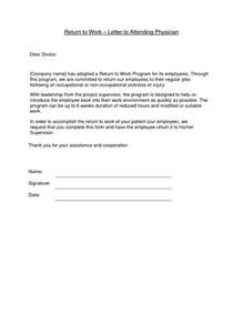 return work letter template best photos of return to work doctor template return to
