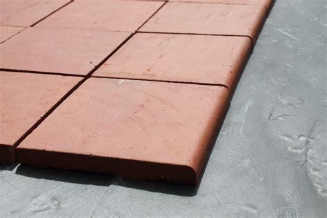 new red quarry tile single bullnose 6x6 cawarden reclaim