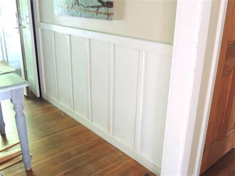 Decorating Ideas For Dining Room Walls board and batten a simple tutorial for the diy newbie