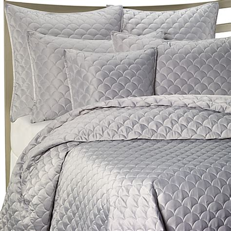 Lagoon Quilt by Barbara Barry 174 Crescent Moon Quilt In Lagoon Bed Bath