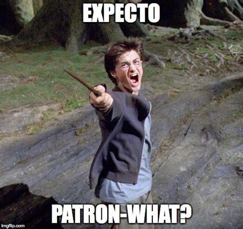 Patron Meme - harry potter imgflip