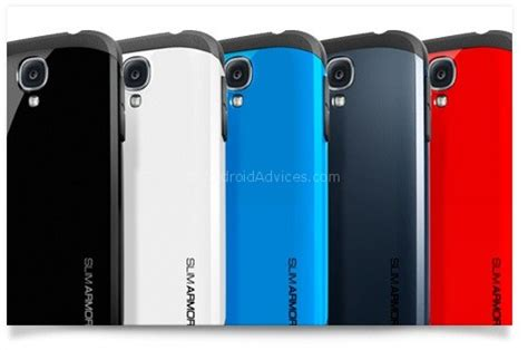 Samsung Galaxy S4 Spigen Slim Armor Back Cover Casing S4 best samsung galaxy s4 gt i9500 cases covers android advices