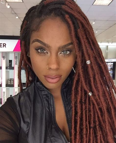 faux dreads on black women natural black girls the most beautiful black women you