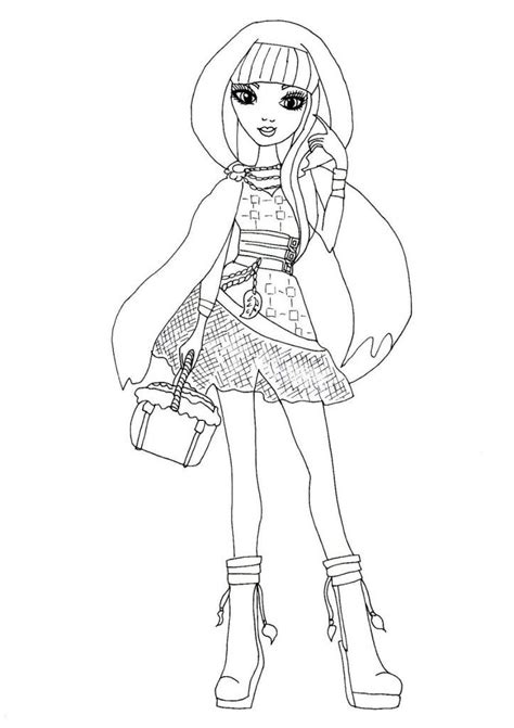 Free Coloring Pages Of Monster High Characters High Characters Coloring Pages