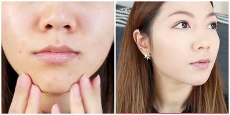tutorial make up wajah berjerawat cara makeup untuk muka berjerawat saubhaya makeup