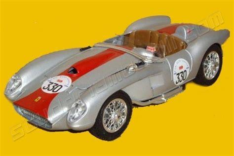Bburago Fearri 250 Testa Rossa bburago 1957 250 tr testa rossa 330 mille miglia silver