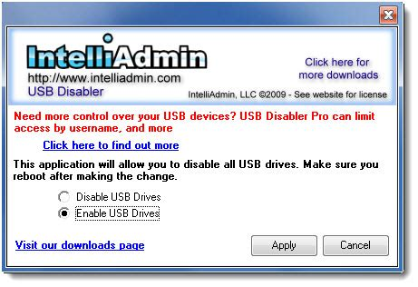 Mba Re Enable Usb Device by How To Disable Or Enable Usb Ports In Windows 7 My Tricks