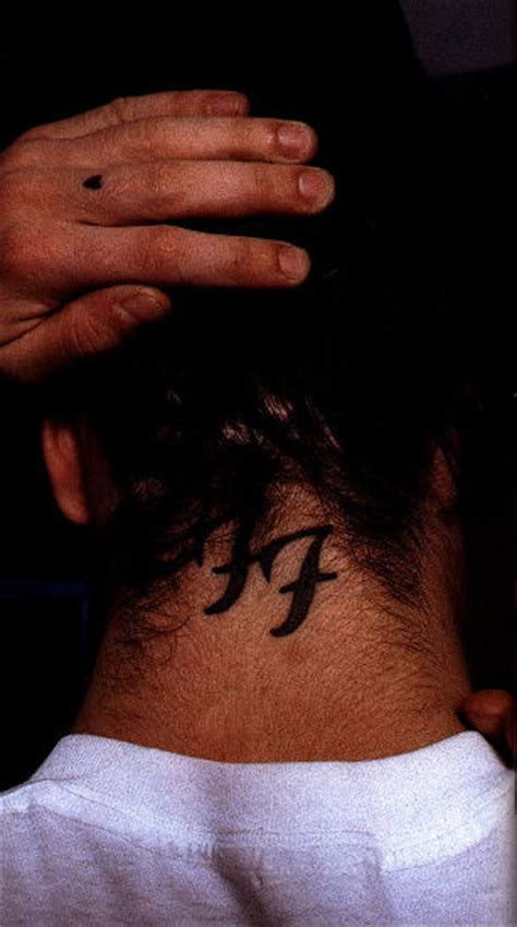 dave grohl tattoo dave grohl s tattoos