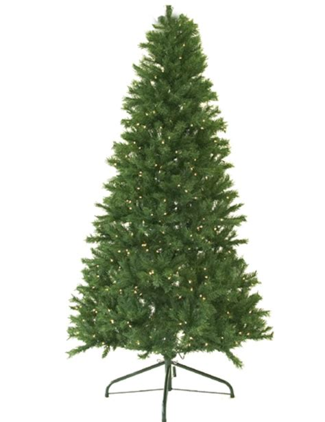 canadian christmas trees 9 ft pre lit canadian pine artificial tree clear lights