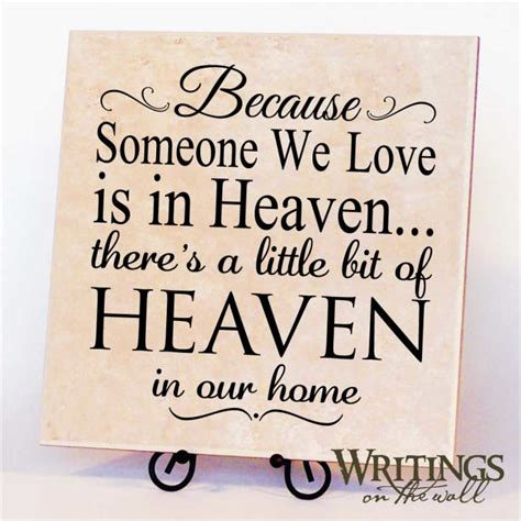heaven in our home writings on the wall