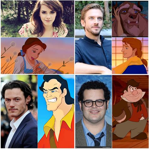 and the beast 2017 cast the cast of 2017 beauty and the beast revealed