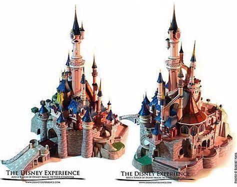 Sleeping Castle Papercraft - impressionante modelo de papel do castelo da bela