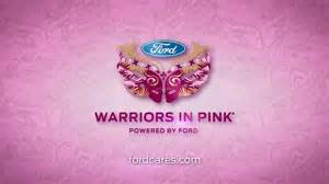 ford warriors in pink tv commercial featuring christine