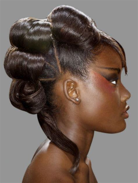 fashion forward hair up do protective hairstyles for relaxed telaxed hair textures 3