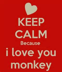 Monkey i love you quotes lol rofl com
