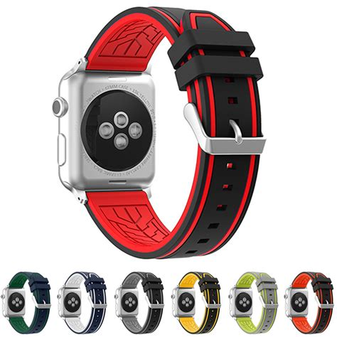 Apple Sport Rubber Iwatch Iwo 2 42mm Gray neway 2017 rubber watchband for apple iwatch band 38mm 42mm series 1 2 silicone