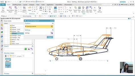 quick view layout autocad nx cad quick tips nx layout create and edit a 2d layout