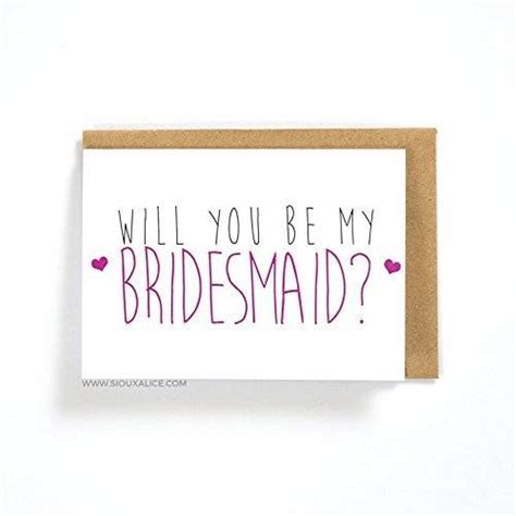 Handmade Will You Be My Bridesmaid Cards - will you be my bridesmaid wedding greetings card