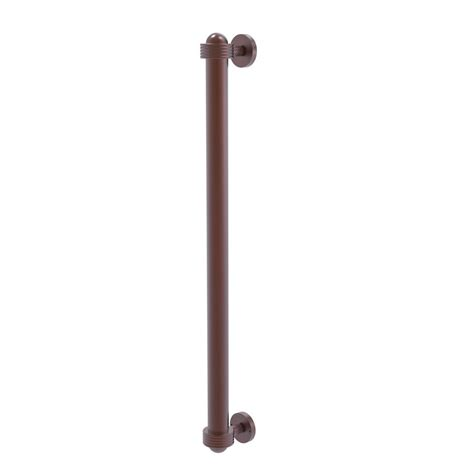 Phone Stand 3 Drawer Antique Ag 51 allied brass 18 in refrigerator pull with groovy accents in antique copper 402ag rp ca the