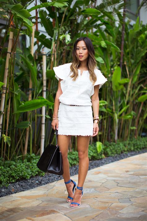 how tall is aimee song aimee song denim for summer glam radar