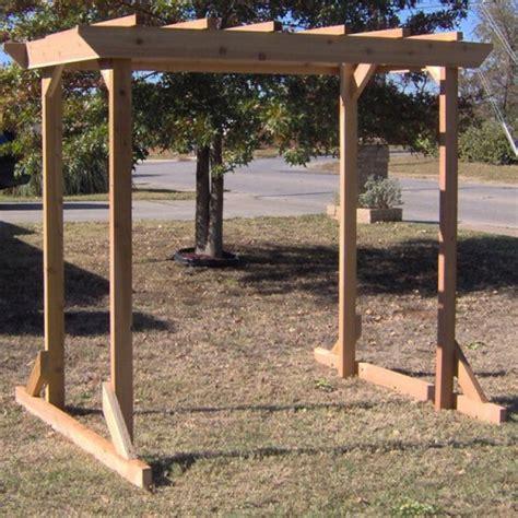 cedar pergola swing tmp outdoor furniture large cedar pergola arbor swing frame