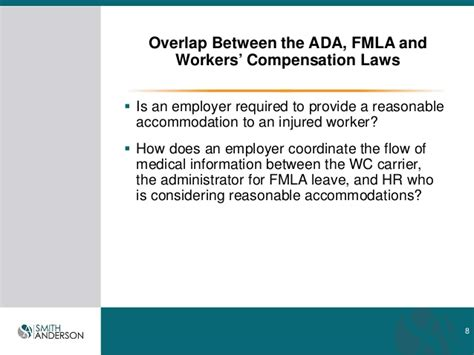 pa workers compensation laws light duty webinar overlap between ada fmla and workders comp 9 17 14 2