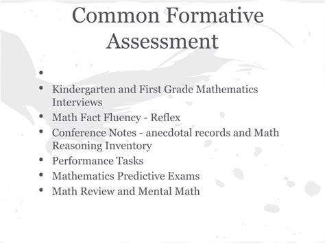 Ppt Balanced Math Framework Powerpoint Presentation Id 2397861 Common Formative Assessment Planning Template